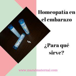 Homeopatía en el embarazo